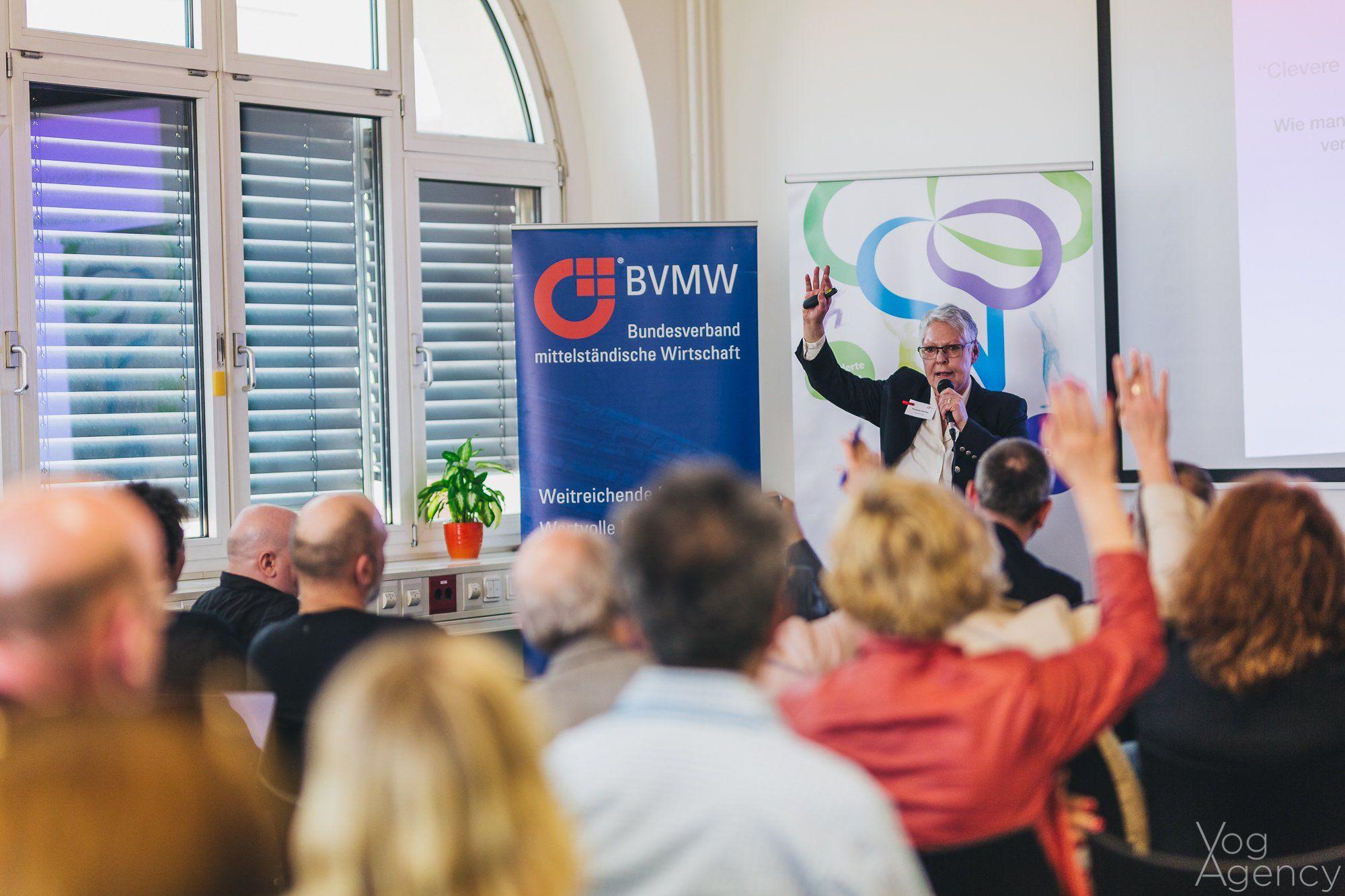 Vortrag Susanne Richter auf dem ersten Online-Marketing-Day 2018 in Berlin