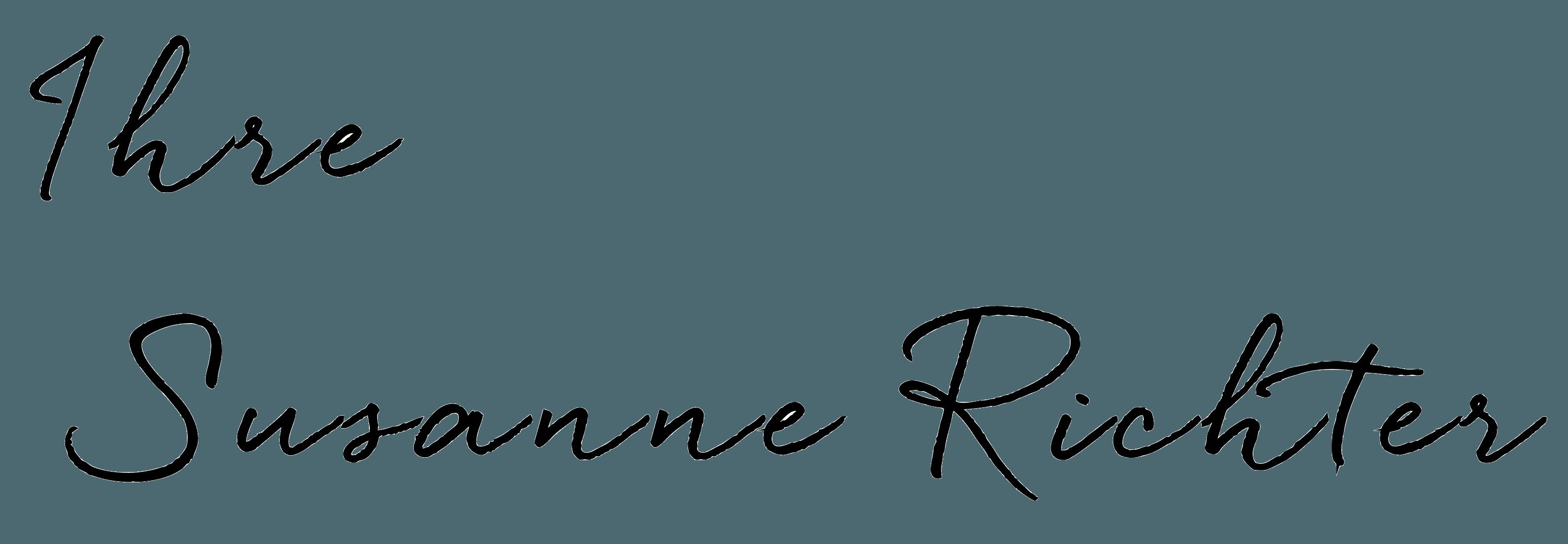 Unterschrift Susanne Richter