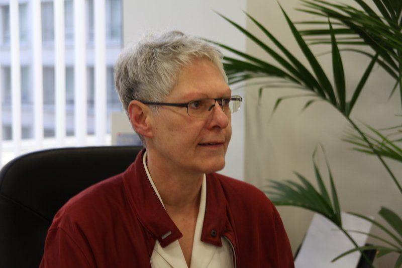 Susanne Richter in ihrem Büro