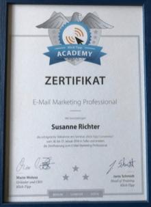 Bild: Certified Consultant Marketing-Automation Susanne Richter